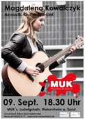 MUK Acoustic-Guitar-Special mit Magdalena Kowalczyk